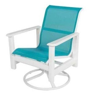 Hampton Sling Dining Swivel Rocker