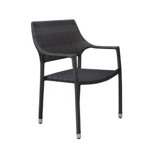 Georgia Wicker Stackable Dining Chair
