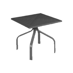 "Newport MGP 24"" Square Side Table"
