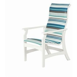 Covina Sling High Back Dining Chair
