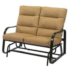 Sonata Cushion Loveseat Glider