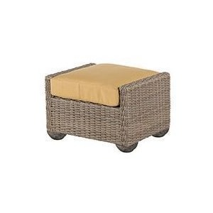Oxford Wicker Ottoman