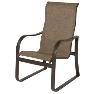 Corsica Sling High Back Dining Chair