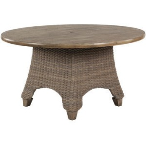 "Oxford 54"" Round Dining Table with Umbrella Hole"