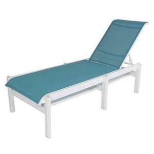 Hampton Sling Armless Chaise Lounge