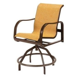 Sonata Sling Swivel Balcony Chair