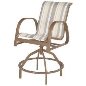 Anna Maria Sling Swivel Balcony Chair