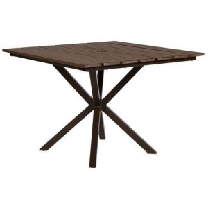 "Tahoe Plant 40"" Square Balcony Table"