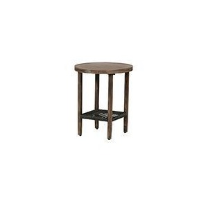 "Belize Wicker 20"" Round Side Table"