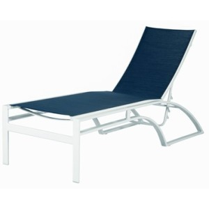 Phoenix Sling Armless Chaise Lounge