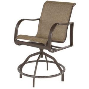 Corsica Sling Swivel Balcony Chair