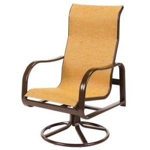 Sonata Sling High Back Swivel Rocker