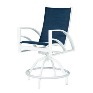 Phoenix Sling Swivel Bar Chair