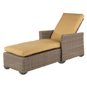 Oxford Wicker Chaise Lounge