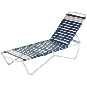 Aruba Strap Armless Chaise Lounge