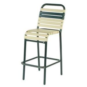 Neptune Strap Armless Bar Chair