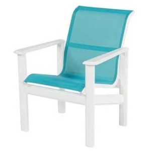 Hampton Sling Dining Arm Chair