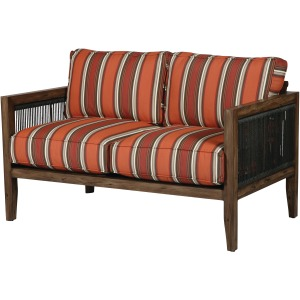 Belize Wicker Loveseat