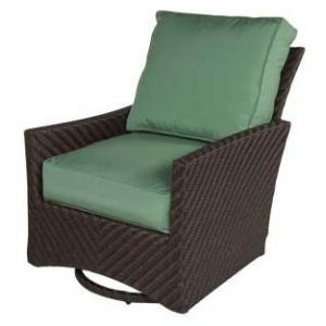 Palmer Wicker Lounge Chair Swivel Glider