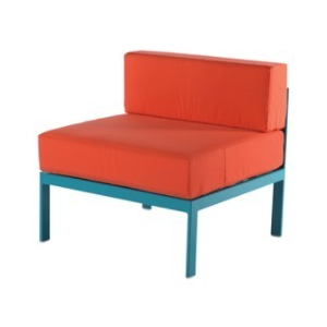 South Beach Armless Lounge Chair