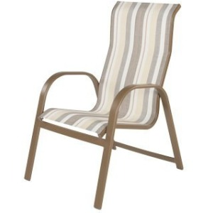 Anna Maria Sling High Back Dining Chair