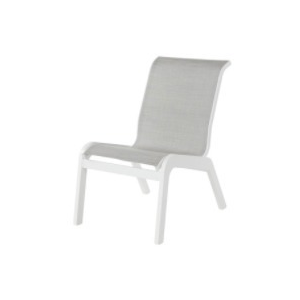 Mailbu Sling Armless Dining Side Chair