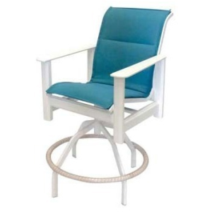 Hampton Sling Swivel Bar Chair