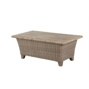 "Oxford 26""x48"" Rectangle Tile Top Coffee Table"