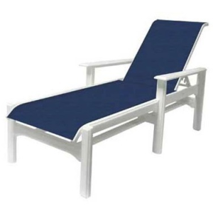 Cape Cod Sling Chaise Lounge w/Arms
