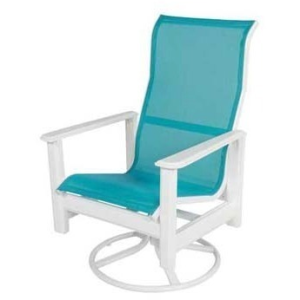Hampton Sling High Back Swivel Rocker
