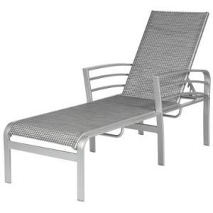 Skyway II Sling Armless Chaise Lounge