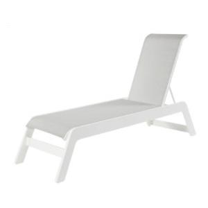 Mailbu Sling Armless Chaise Lounge