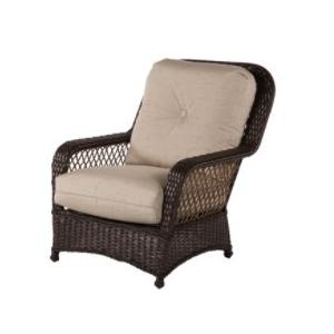 Hannah Wicker Lounge Chair