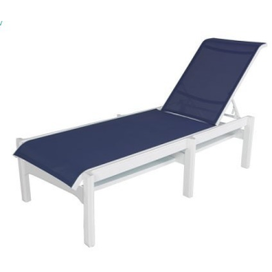 Cape Cod Sling Armless Chaise Lounge