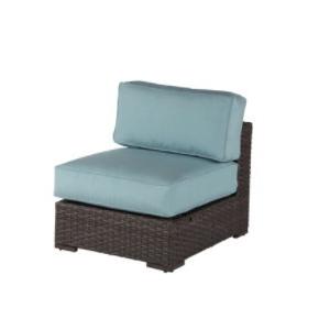 Georgia Wicker Armless Lounge Chair