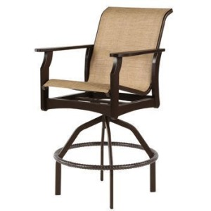 Covina Sling Swivel Balcony Chair