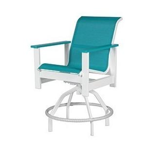 Kingston Sling Swivel Balcony Chair