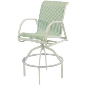 Ocean Breeze Swivel Bar Chair