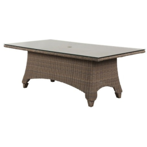 """Oxford Woven 42""""x84"""" Dining Table"""