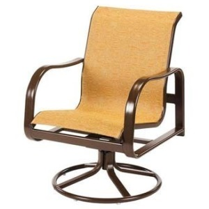 Sonata Sling Dining Swivel Rocker
