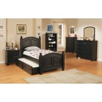 Panel Twin Bed and Trundle Box