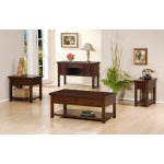 2-Drawer Coffee Table, 1-Drawer End Table, Sofa Table/Writing Desk and 1-Drawer Chairside Table