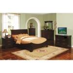 Renaissance Sleigh Bed Suite in Espresso