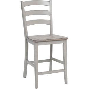 "Ridgewood 24"" Arched Ladder Back Barstool"