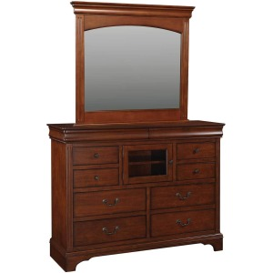 "58"" 10-Drawer Tall Dresser"