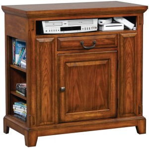 "Zahara 36"" Media Base - Medium Oak"