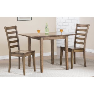 Carmel Rustic 3PC Dining Set