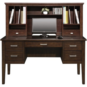 """54"""" Desk and 54"""" Hutch"""