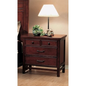 Willow Creek 3-Drawer Nightstand