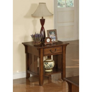 Zahara 1-Drawer End Table